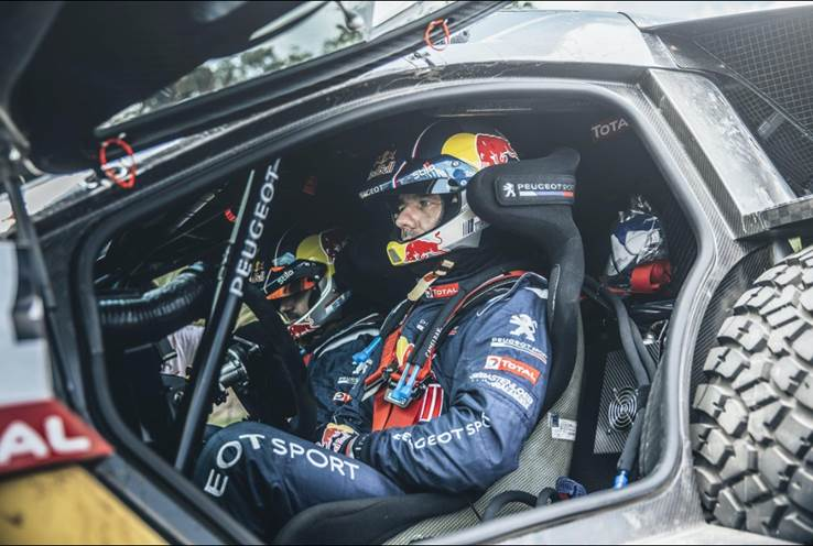 Sébastien Loeb Rally EVO official sponsor
