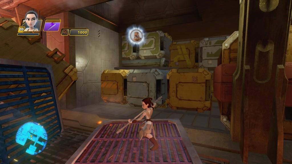 Nachdem ihr die erste Mission für Han Solo erledigt habt, bekommt ihr es mit den Weltraumpiraten zu tun. Ihr gelangt nun auch ins Innere des Frachters. Sobald ihr in einem der großen Frachträume mehrere Angriffswellen der Piraten überstanden habt, kommt ihr in einen Flur, in dem einer der Piraten von dem Rathar angegriffen wird. Am Ende dieses Flur findet ihr rechts in einer Nische CHEWBACCA.