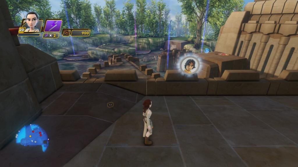 Auf dem Dach des Gebäudes, auf dem ihr die erste Hauptmission in Takodana annehmen könnt, gelangt ihr nach einiger Kletterei zur Münze von EZRA BRIDGER aus Star Wars Rebels.