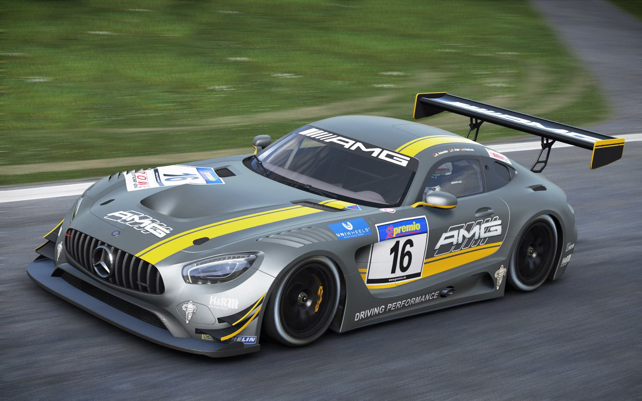 project cars das freecar im april ist ein mercedes amg gt3 news mgm. Black Bedroom Furniture Sets. Home Design Ideas