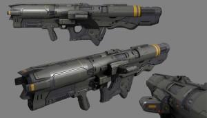 Timothee Yeramian - Rocket Launcher Render