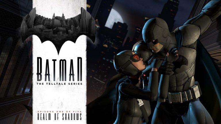 Batman The Telltale Series Realm of Shadows Logo