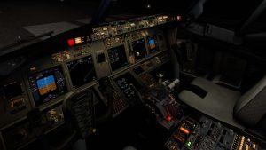 B738 cockpit