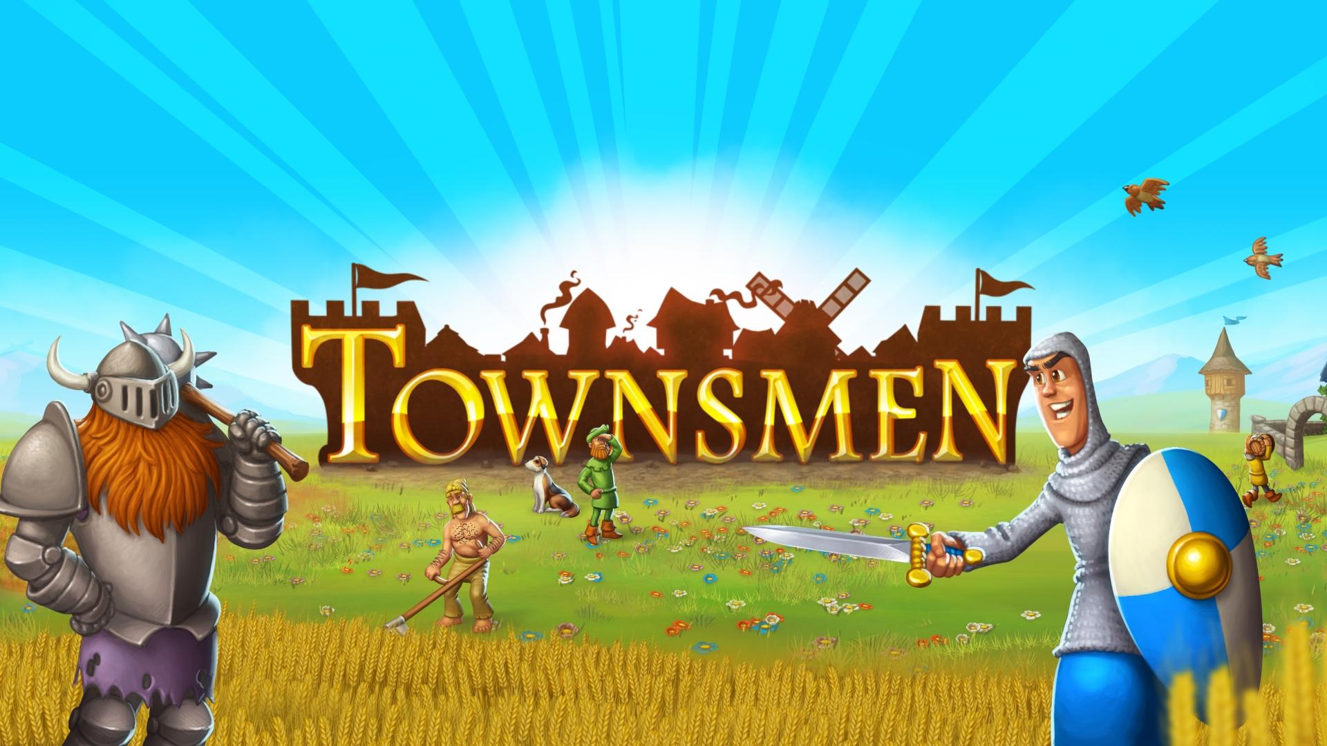 Townsmen – Die Aufbausimulation erscheint am 29. Juni als deutsche PC-Handelsbox