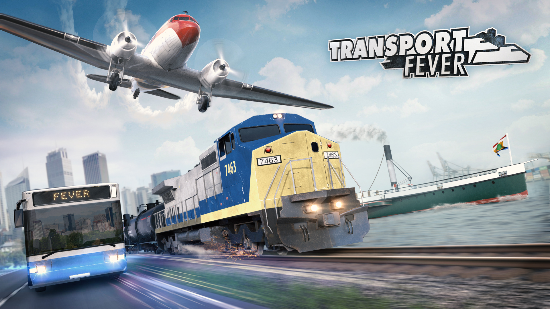 Transport Fever - Cover Art 1