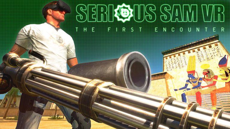 Serious Sam VR - The First Encounter - Key Art