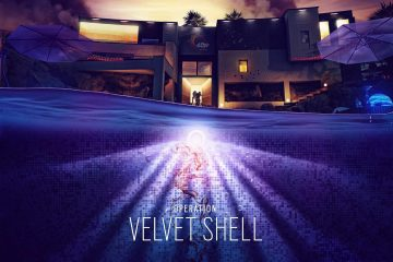 Rainbow six 6 Velvet Shell