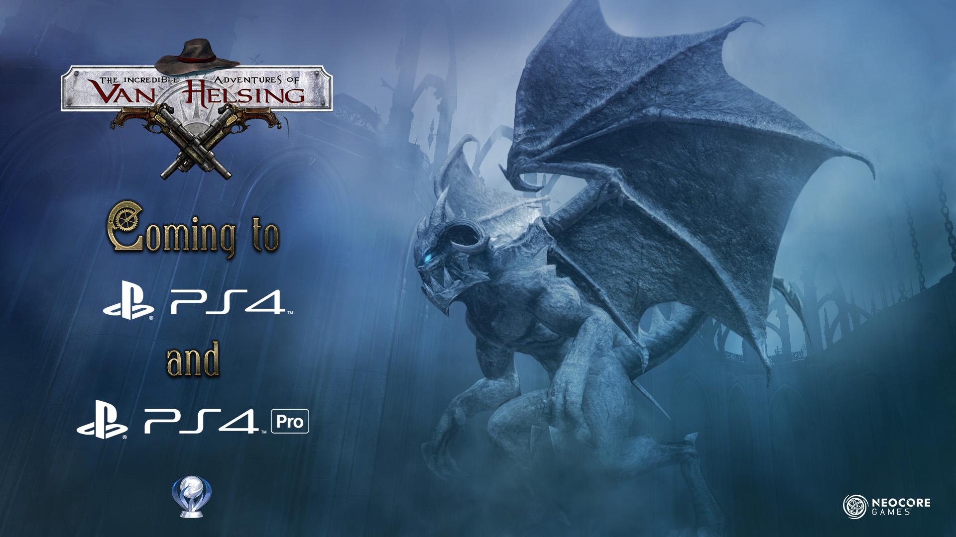 The Incredible Adventures of Van Helsing: Extended Edition erscheint am 1. März in Europa für PlayStation 4 und PlayStation 4 Pro