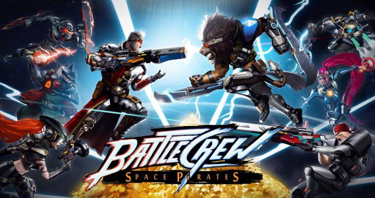 battlecrew space pirates logo