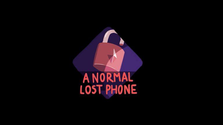 normallostphone