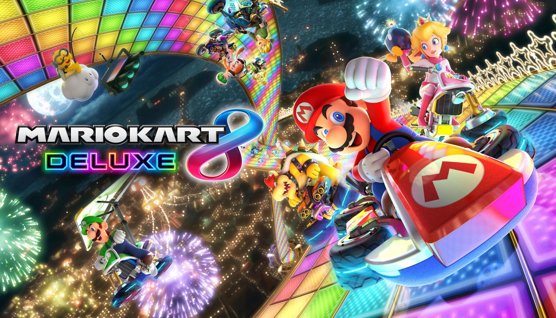 Mario Kart 8 Deluxe: Multiplayer-Rennspaß jederzeit, überall