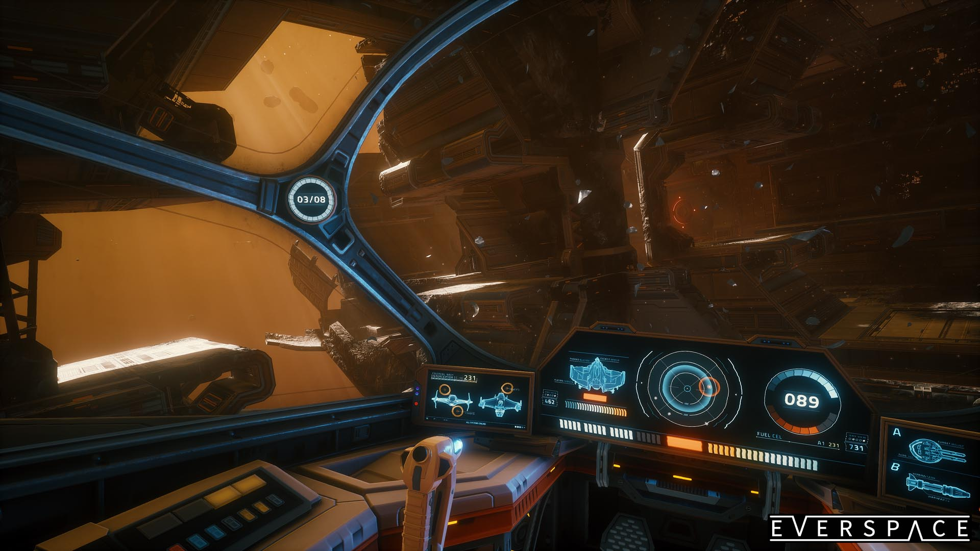 EVERSPACE Colonial Sation Screenshot 04