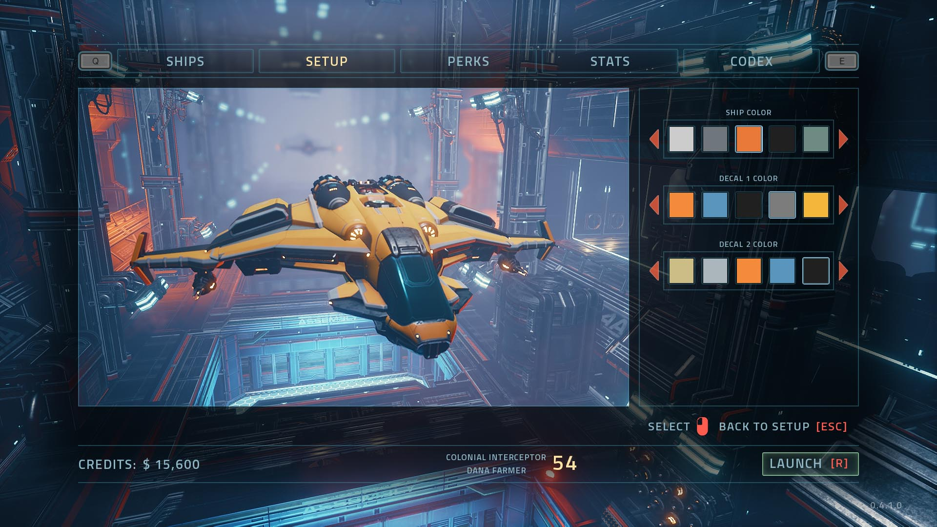 EVERSPACE Ship Paint Jobs