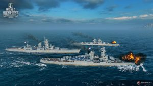 WoWS_French_Cruisers_Screens_Trio2-Charles-Martel_Henri-IV_Saint-Louis