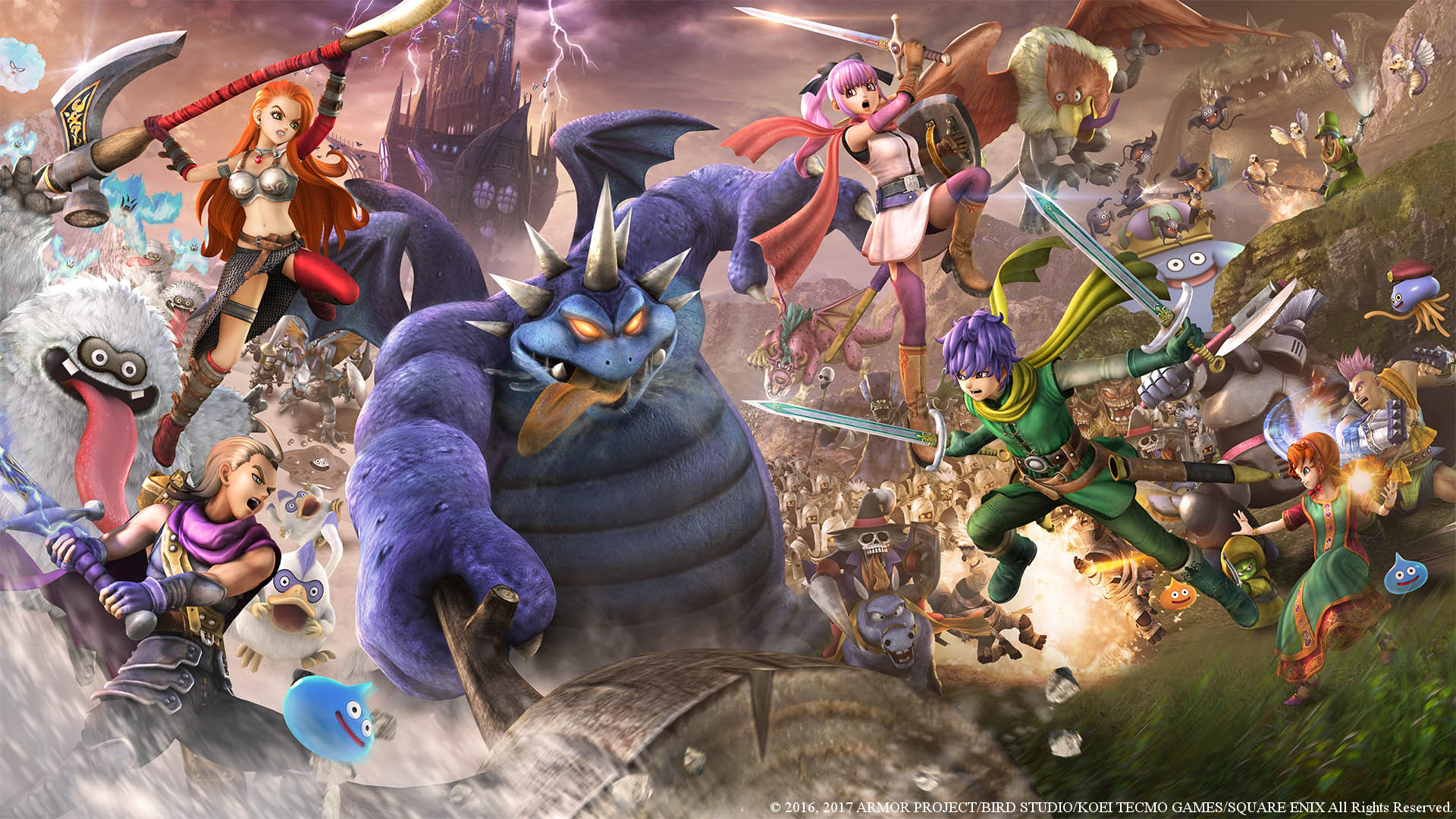 dragon quest heroes 2 artwork