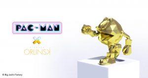 PAC-MAN Gold Chromed