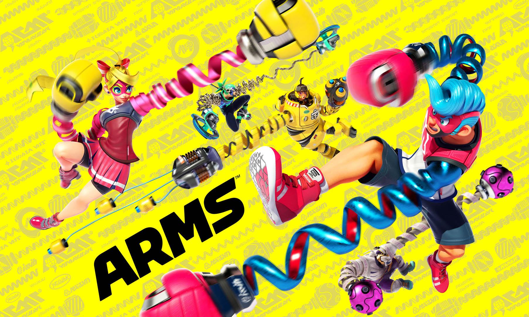 Ring frei für ARMS auf Nintendo Switch