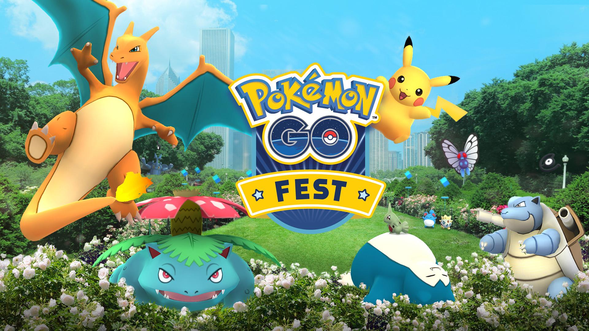 Pokémon GO feiert einjähriges Jubiläum mit Sommerevents in der realen Welt und innerhalb der App