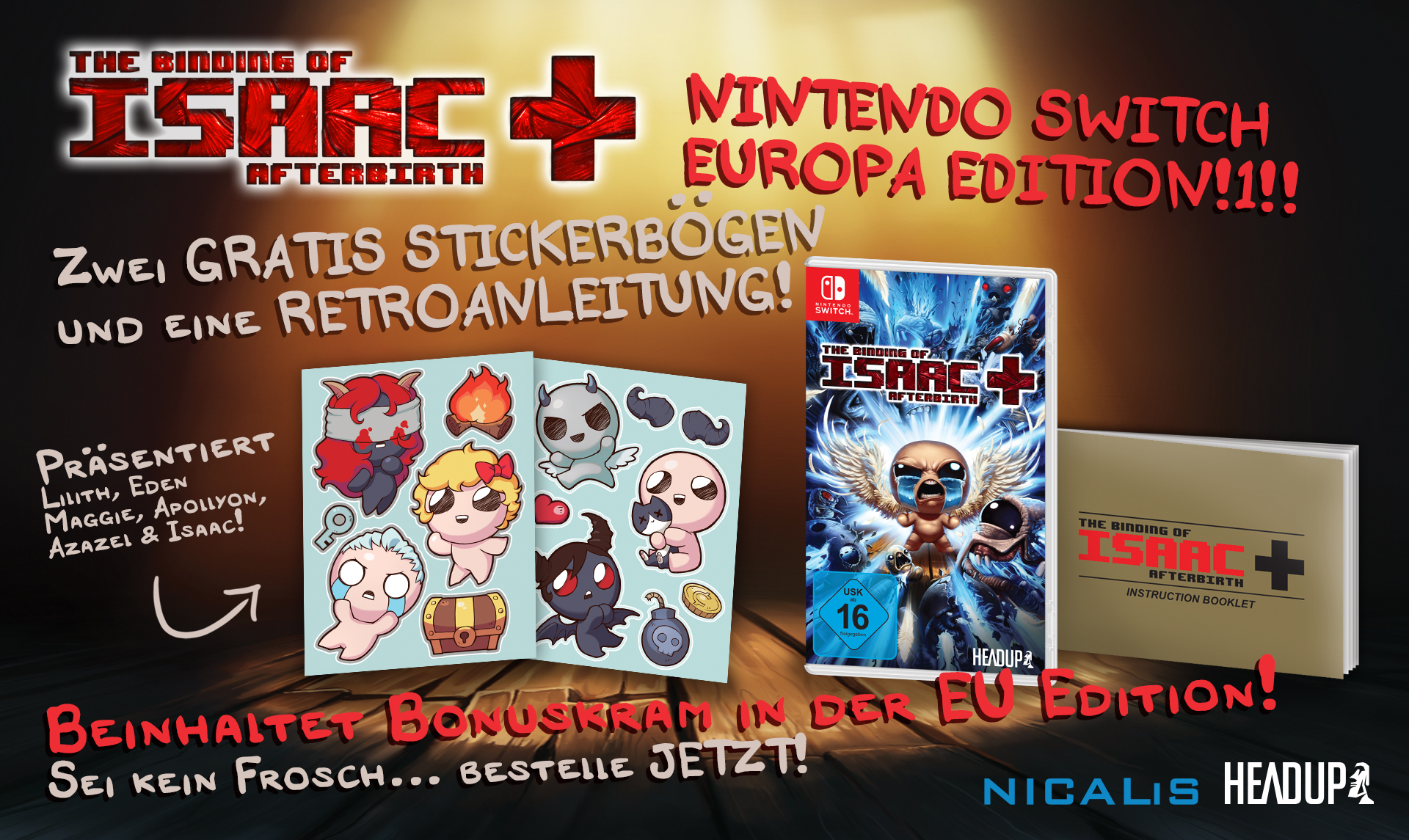 The Binding of Isaac: Afterbirth+ – Ab sofort mit tollen Extras im Handel