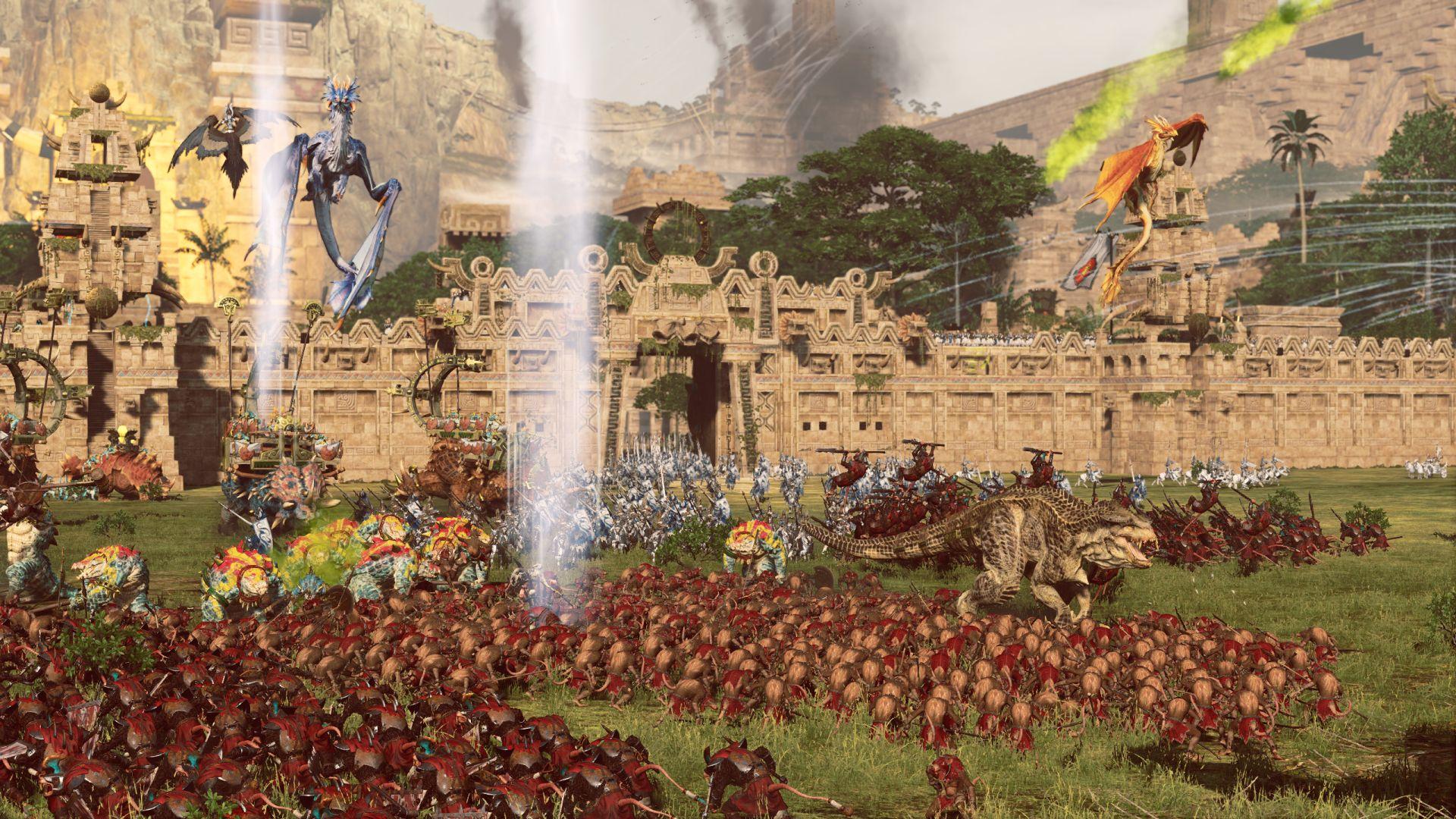 Total War WARHAMMER II  Lizard_v_Skaven