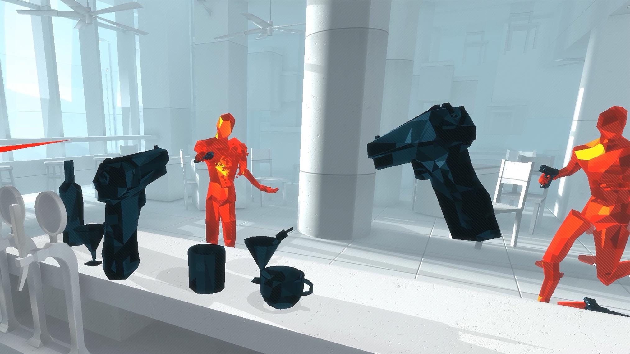 Superhot VR Vive
