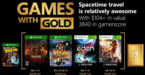 Games with Gold Dezember 2017