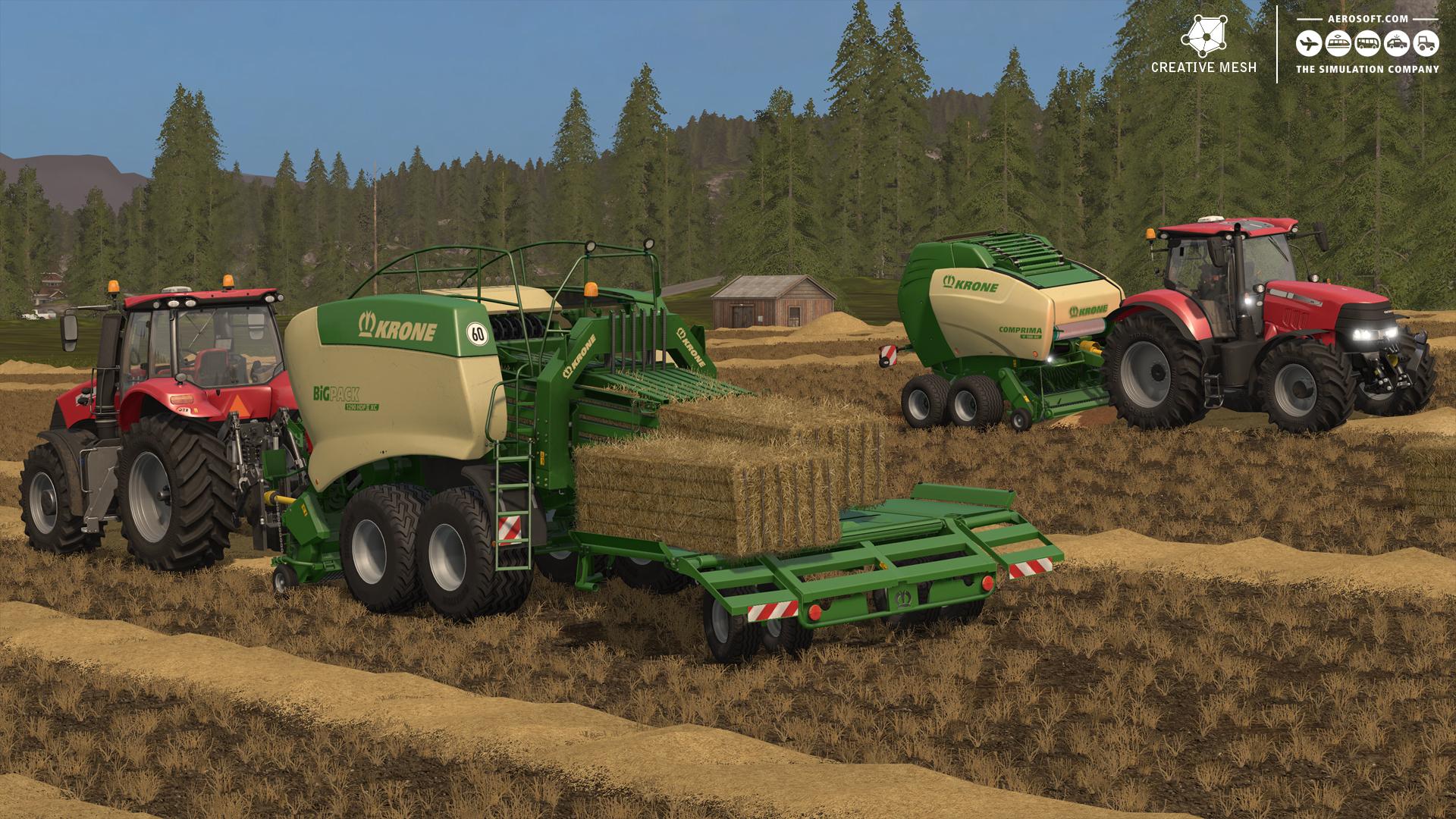 strohbergung add on f r den landwirtschafts simulator 17 erscheint am 30 november mgm. Black Bedroom Furniture Sets. Home Design Ideas