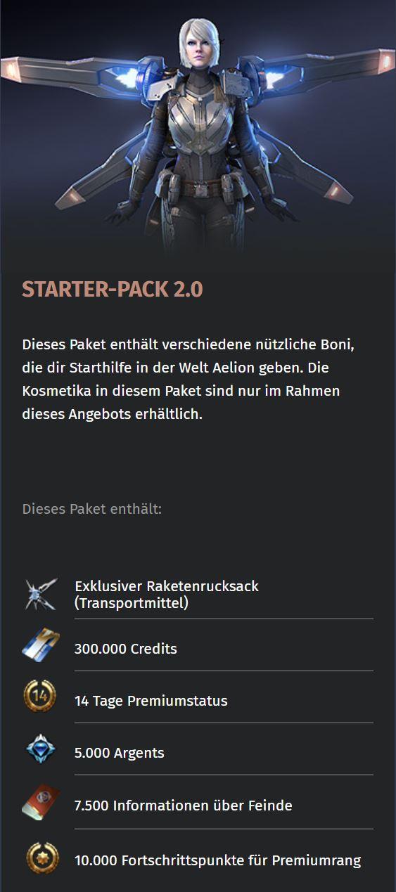 Skyforge Starterpack