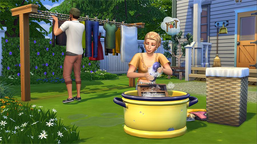 EA und Maxis veröffentlichen Die Sims 4 Waschtag-Accessoires für PC und Mac