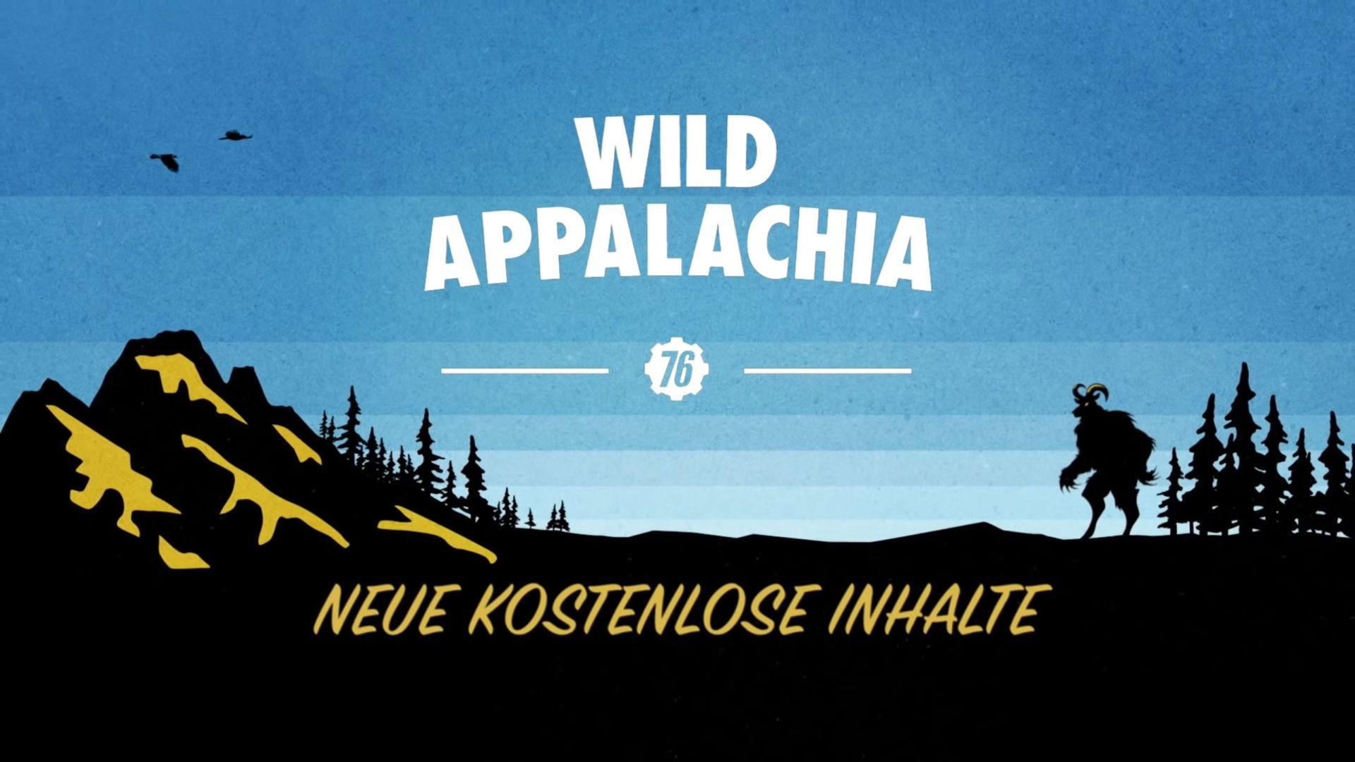 Wild Appalachia Fallout 76