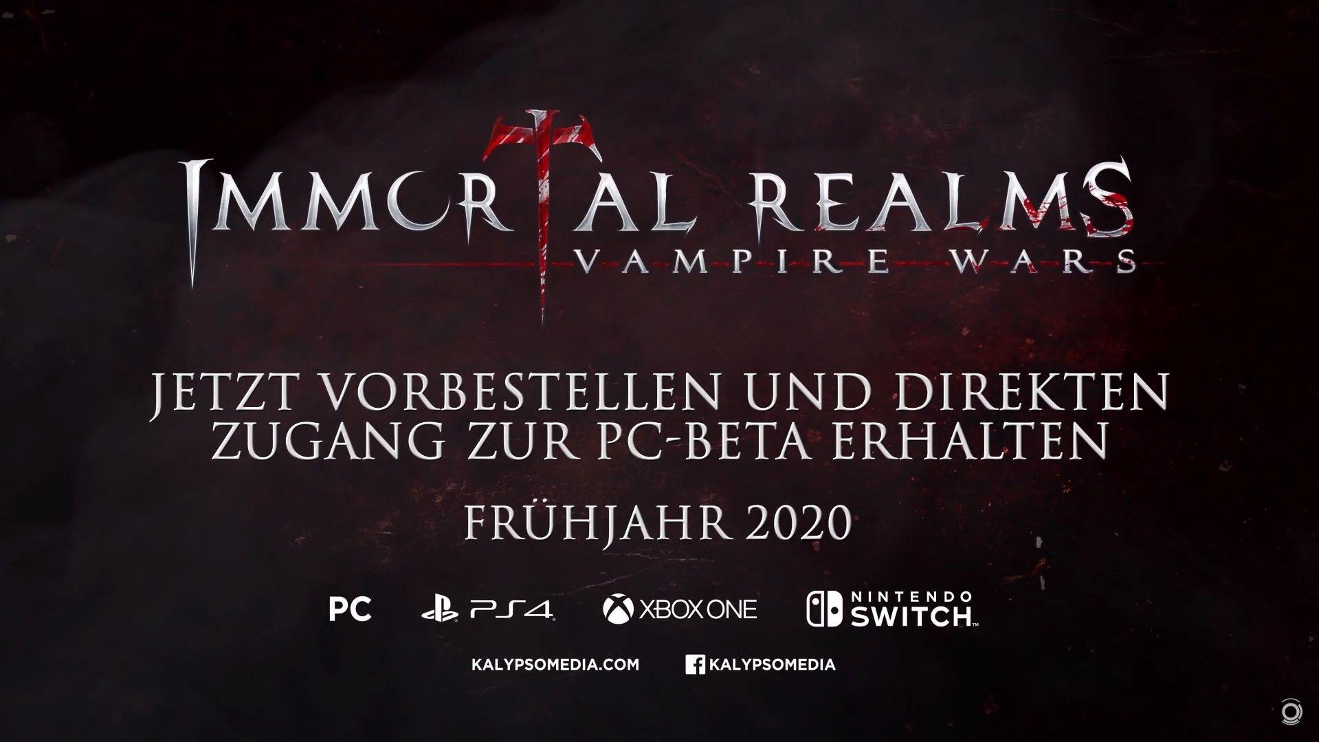 Immortal Realms Beta