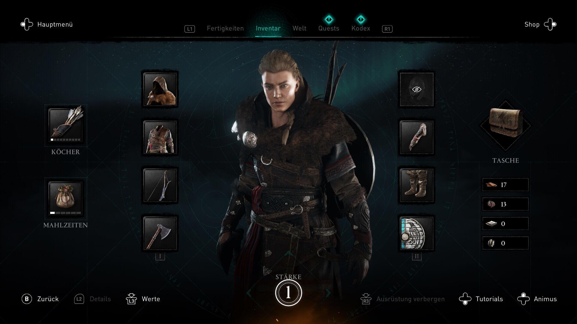Assassin's Creed Valhalla - Charakter