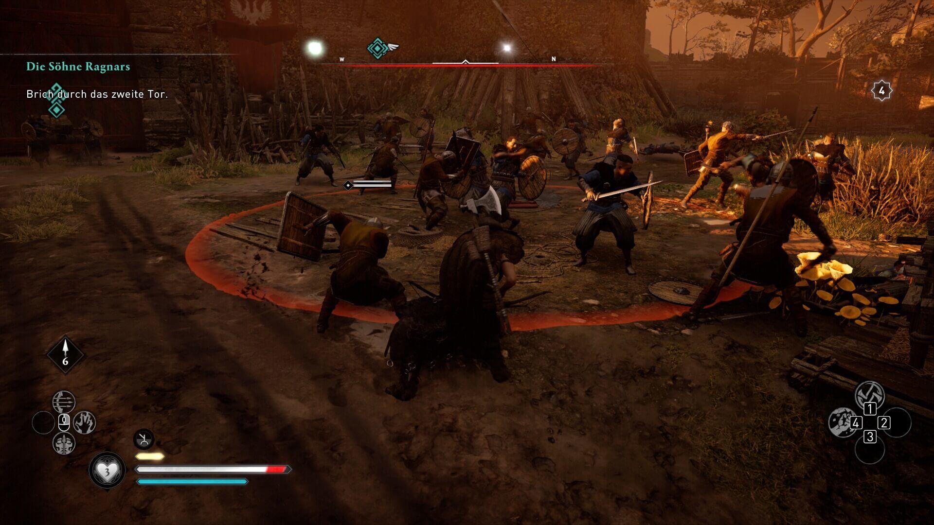 Assassin's Creed Valhalla - Kampfsystem