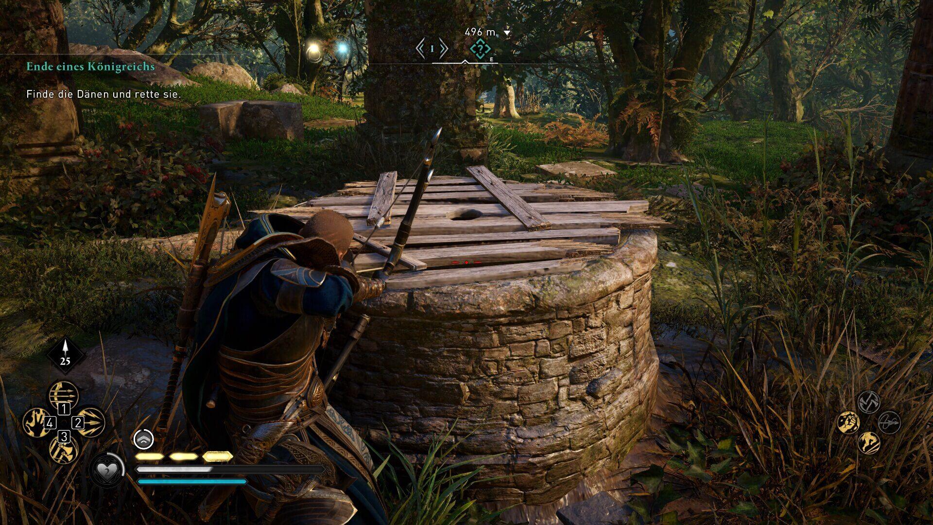 Assassin's Creed Valhalla: Tipps und Tricks für Schatzsucher - Brunnen