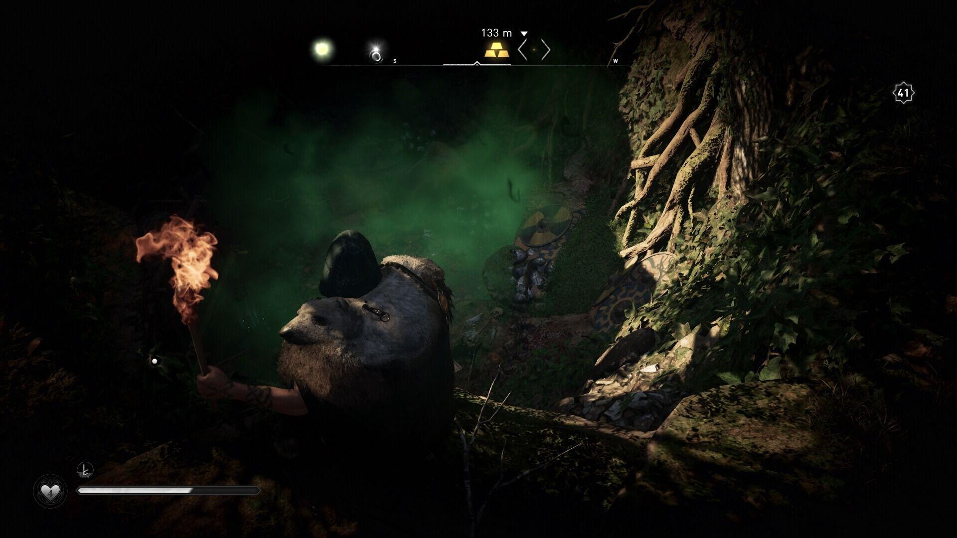 Assassin's Creed Valhalla: Tipps und Tricks für Schatzsucher - Giftwolke