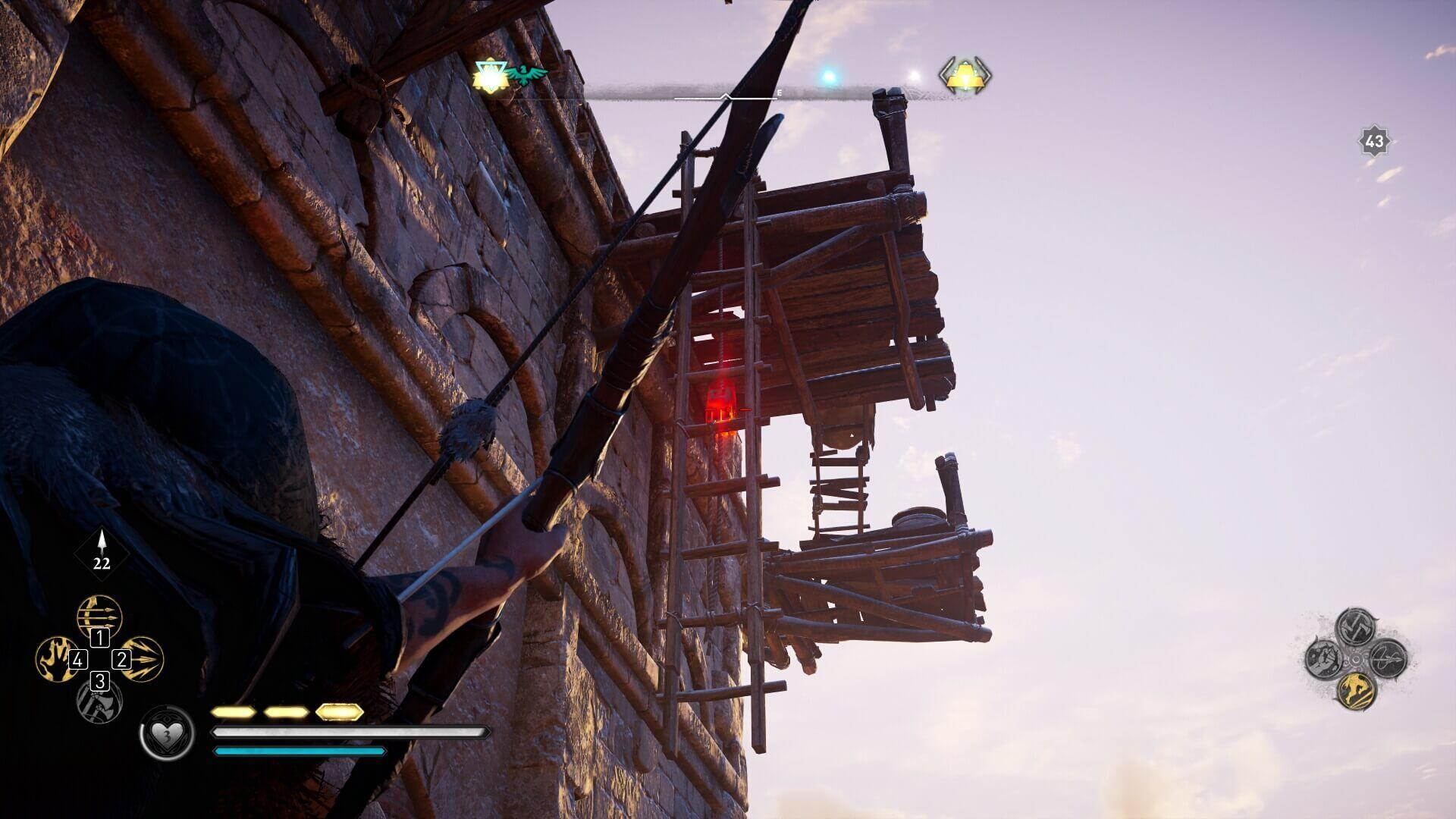 Assassin's Creed Valhalla: Tipps und Tricks für Schatzsucher - Leitern