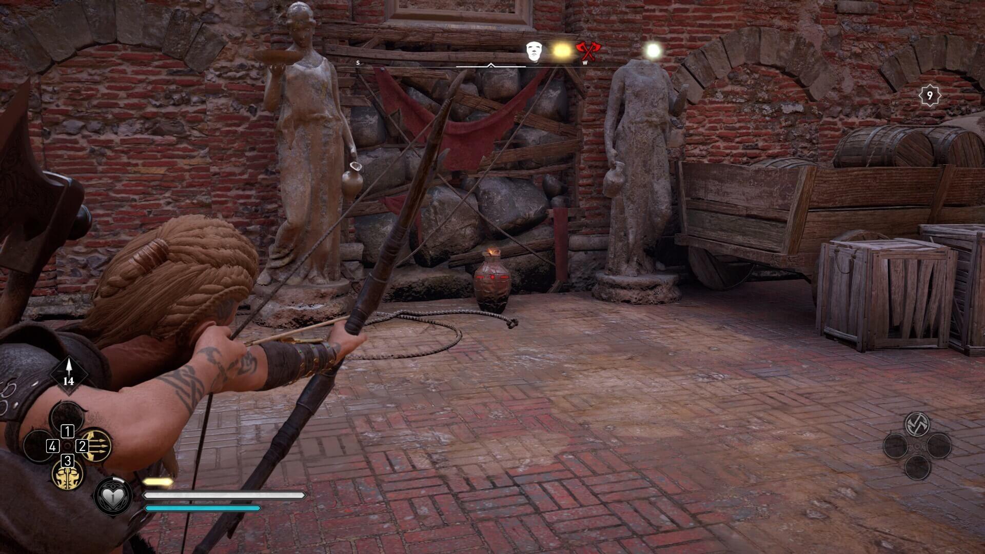 Assassin's Creed Valhalla: Tipps und Tricks für Schatzsucher - Sprengvase