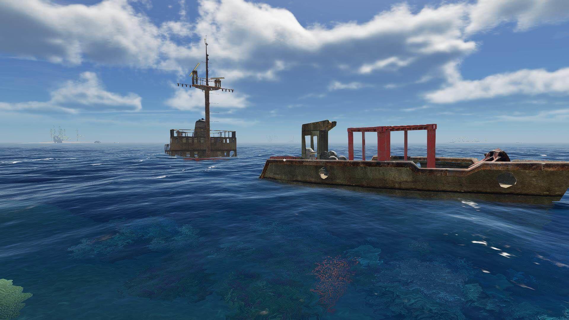 Stranded Deep - gesunkenes Schiff