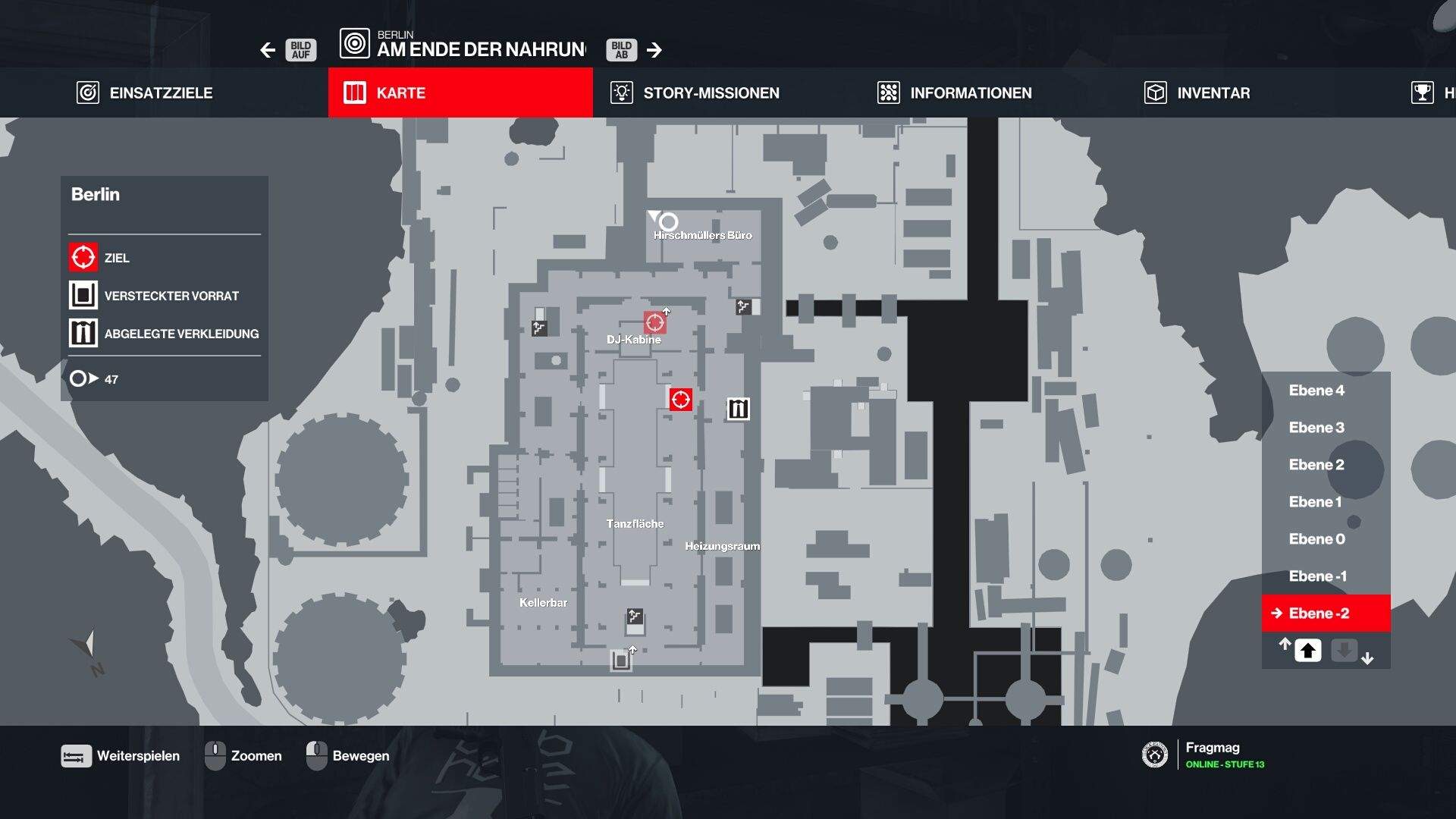 Hitman 3 Berlin Safe Map