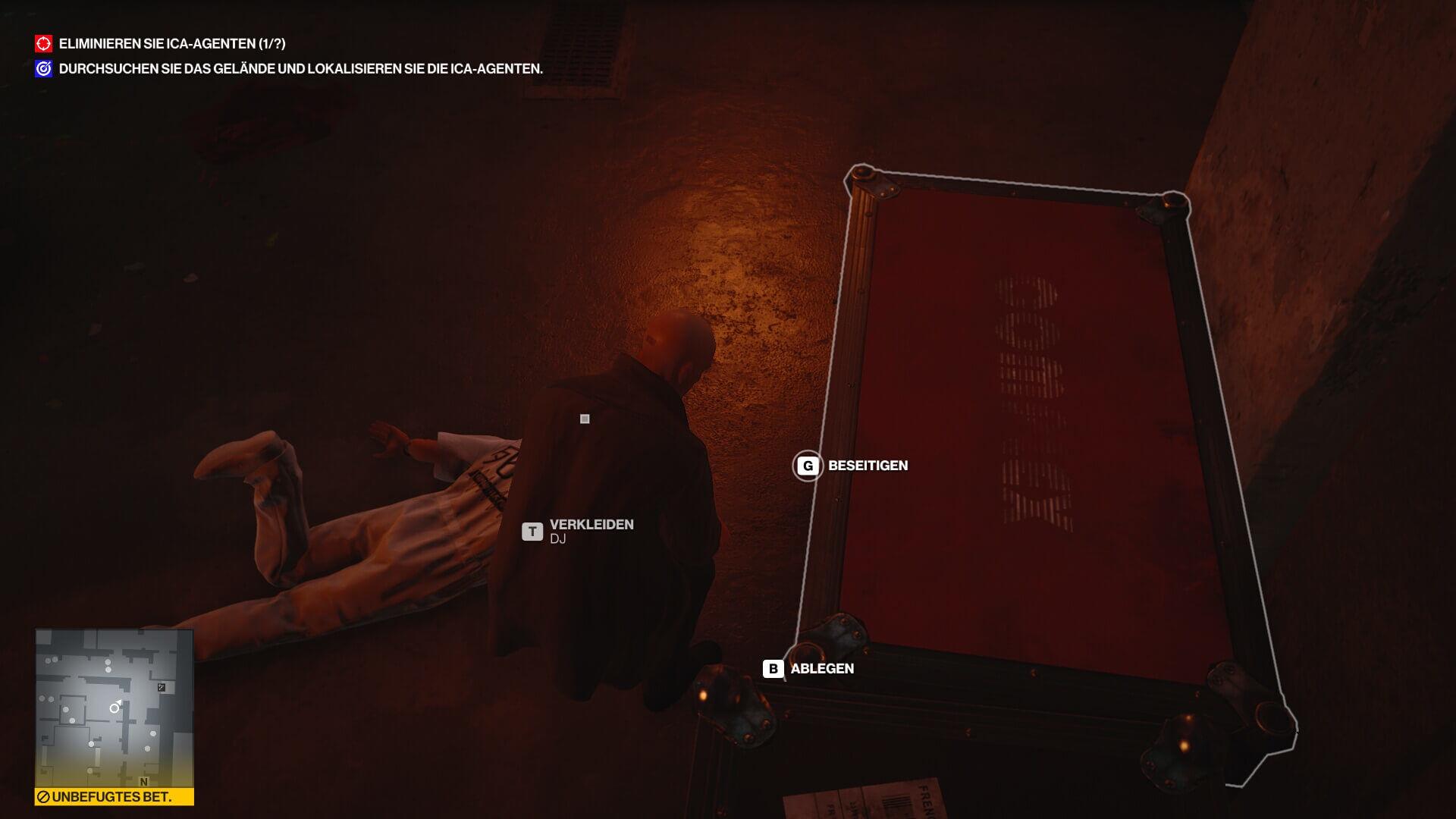 Hitman 3 leiche Verstecken