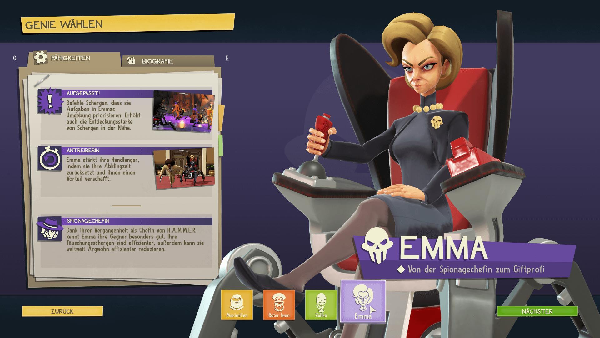 Evil Genius Emma