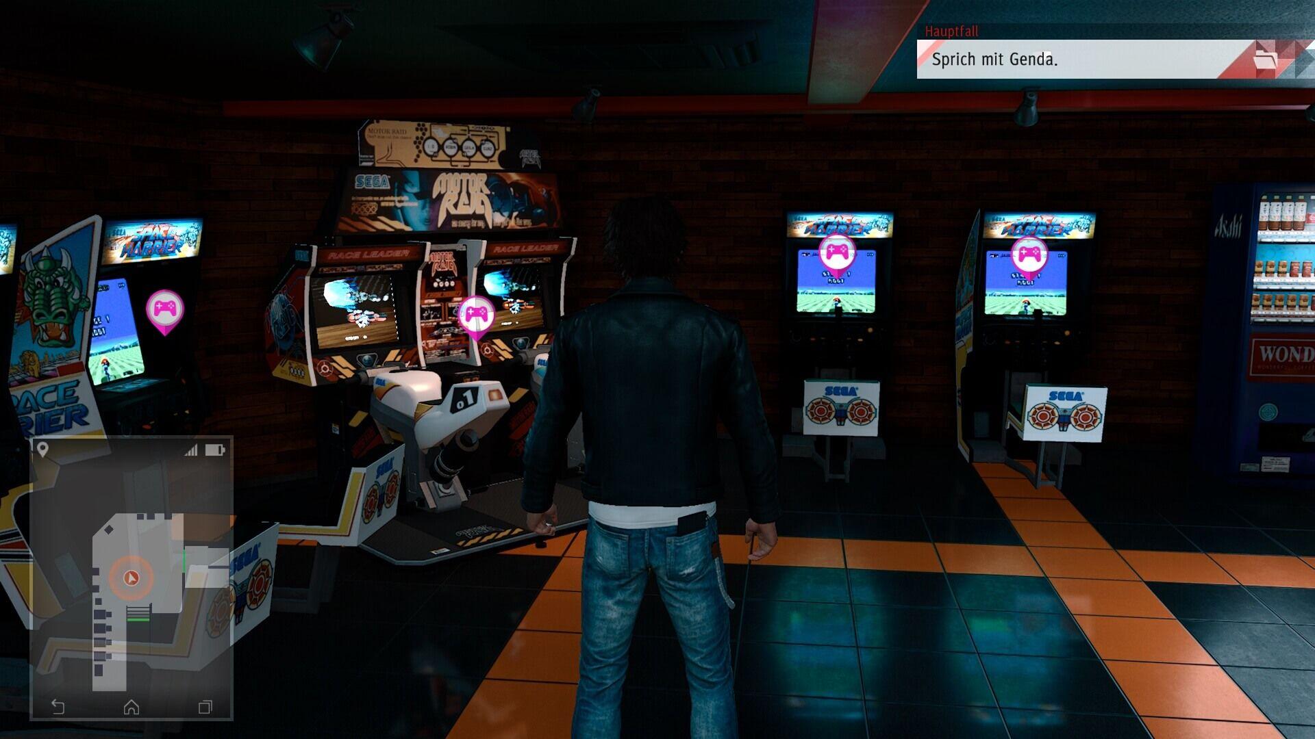 Judgment Spielhalle Sega Club