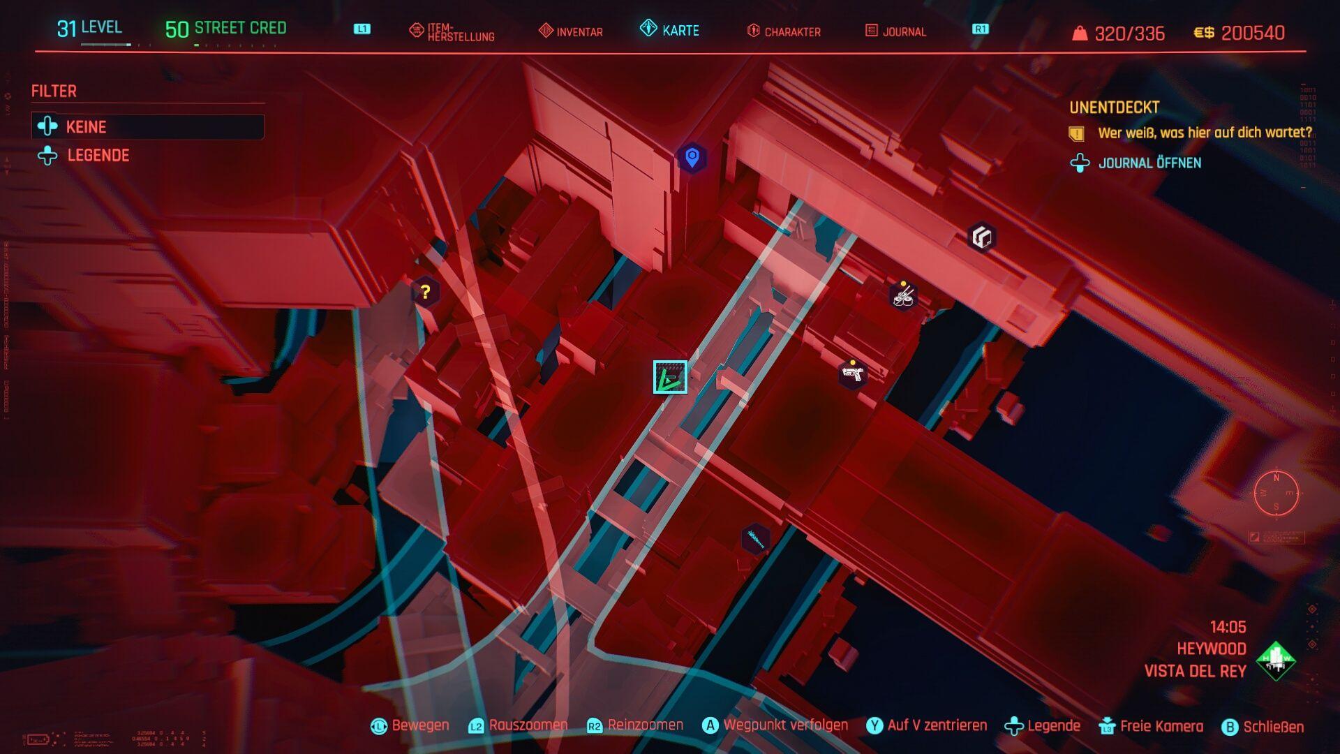 Cyberpunk 2077 Skippy Fundort Detailansicht