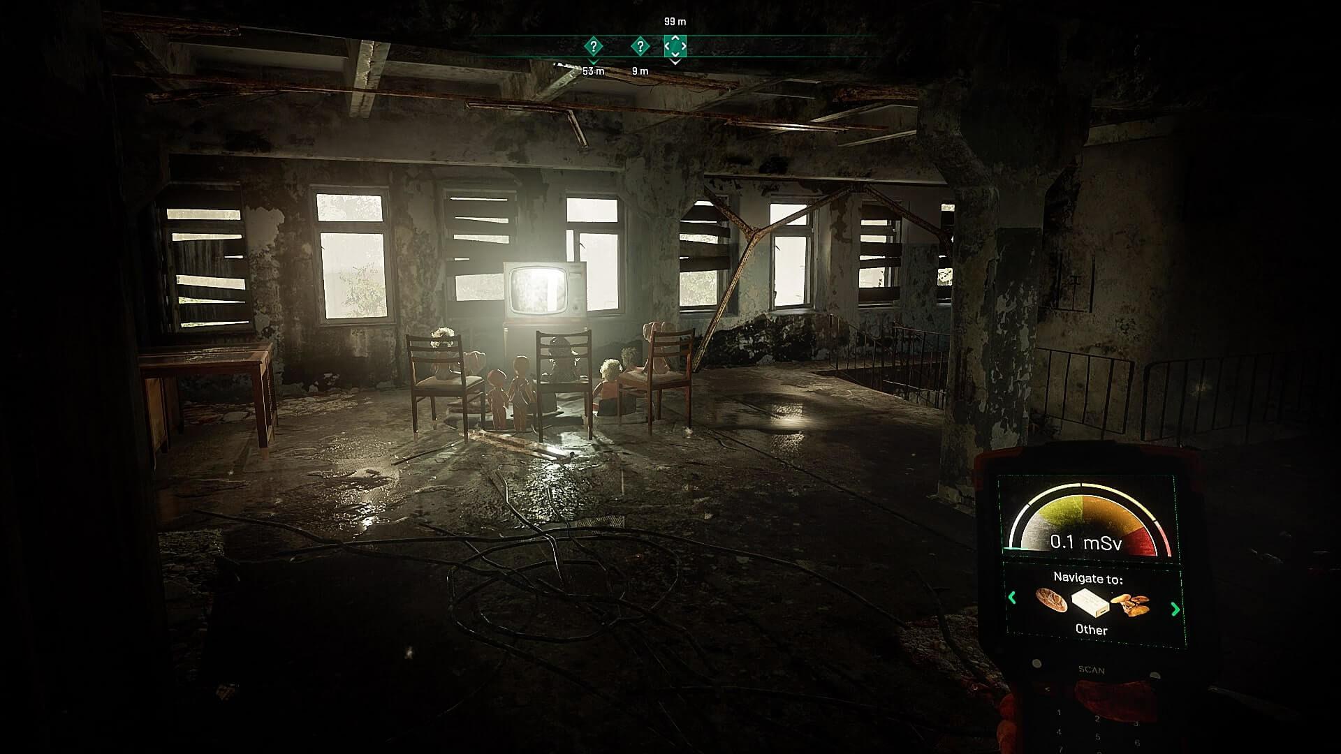 Innenraum Chernobylite